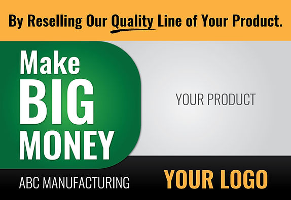 "Manufacturing and Industrial Postcard ""Make Big Money"""