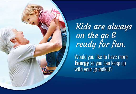 "Physical Therapy ""Energy For Your Grandkids"""