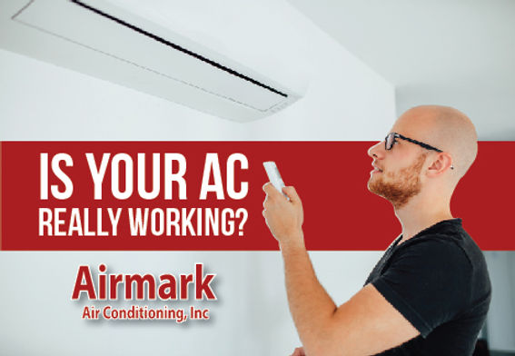 """Heating and Air ConditioningPostcard """"Is Your AC Working?"""""""