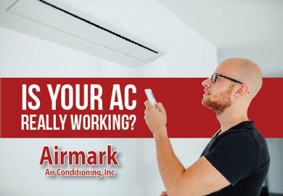 "Heating and Air Conditioning Postcard ""Is Your AC Working?"""