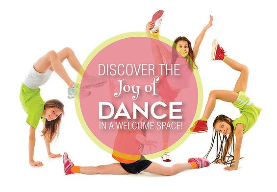 "Dance and Gymnastics Postcard""Joy of Dance"""