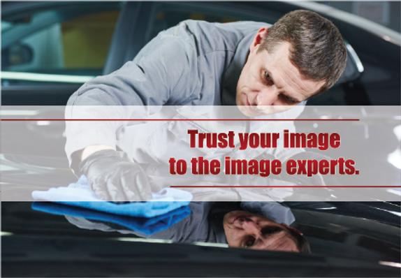 "Auto Detailing Postcard ""Image Experts"""