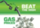 "Auto Repair Postcard ""Beat Gas Prices"""