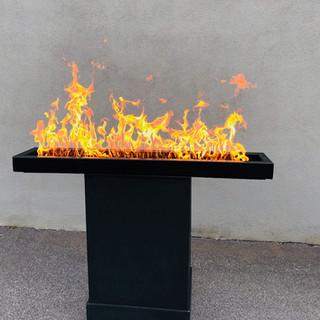 Turnip Linear fireplace