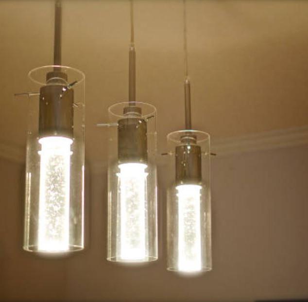 Borosilicate tubes pendants