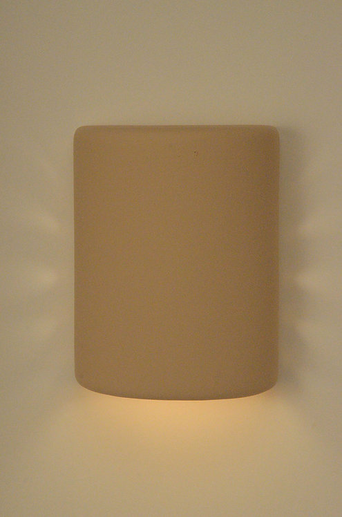 Medium Cylinder Wall Sconce with Side Hole Design