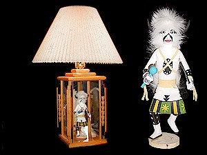 Kachina Lamp