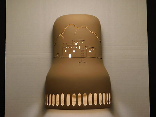 Bell Shaped Wall Sconce with Casita