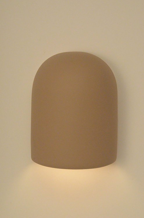 Medium Dome Wall Sconce with No Design