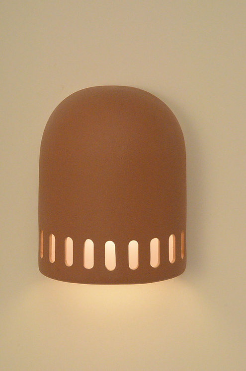 Medium Dome Wall Sconce with Slots