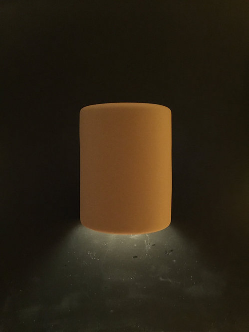 Medium Cylinder Wall Sconce with No Design