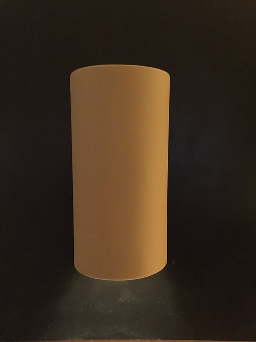 Large Narrow Cylinder Sconce with No Design
