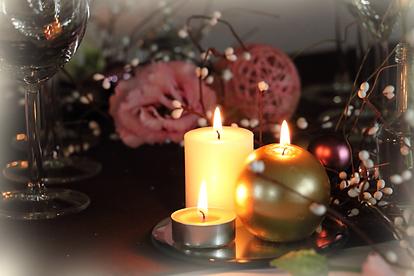 Décoration table Noël tout en douceur
