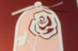 Mariage Rose éternelle en rouge, blanc et rose, création faire-parts, livrets de cérémonie, livret de certificat de mariage