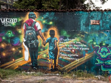 Mural por la Migración