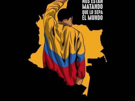 Estudiantes y activistas colombianos crean un Frente de Comunicaciones