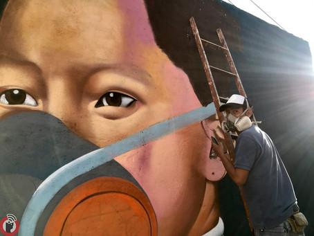 Arte Urbano testifica pandemia en San Pablo