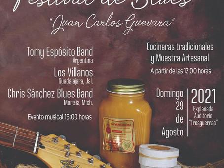 Habrá Festival de Blues en  Celaya