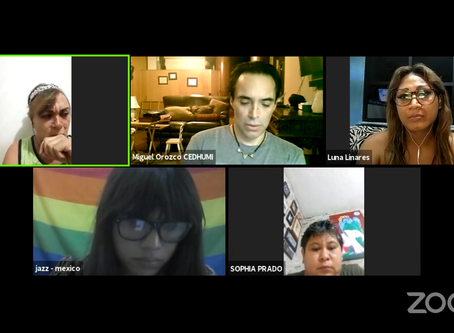 Huelga de hambre de activistas contra Crímenes de Odio LGBTTTIQ+