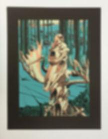 History Of Spirits screen print