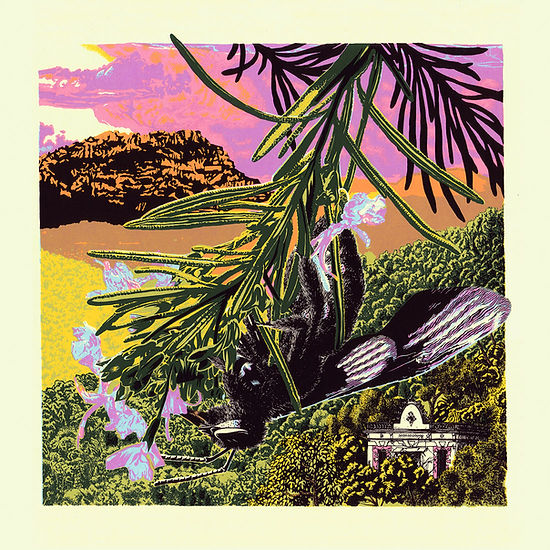 Collserola II screen print