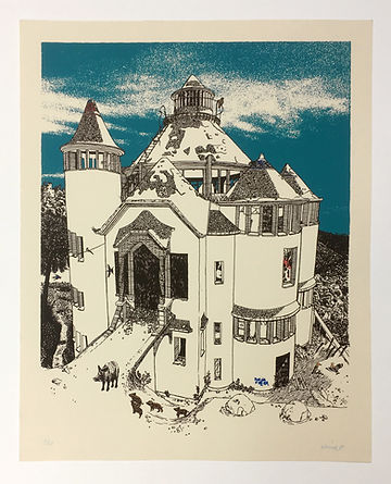 Collserola I screen print