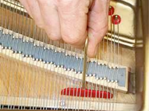 Grand Piano Soundboard Cleaners - Set of 3