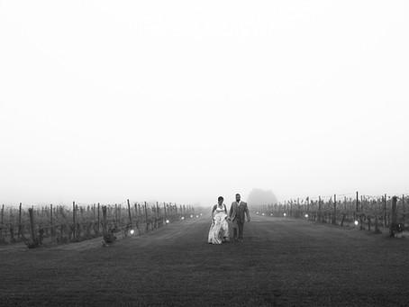 Nicole + Mike | Saltwater Farm Vineyard