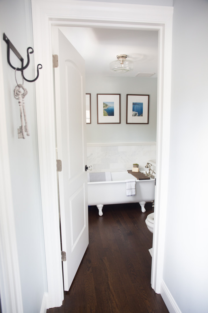 First Floor Bathroom (new addition)