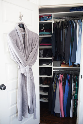 Master Closet (all closests in house finished)