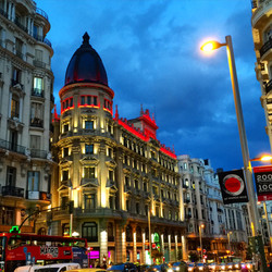 Gran Via, Madrid - Spain '15