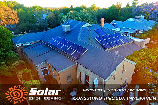 Oleander Guest House Solar Installation