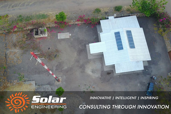 Radio Lilanguka Station Malawi Solar Installation