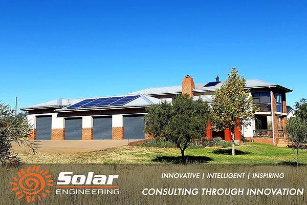 Bloemfontein residential solar installation