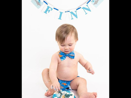 Smash Cake Baby Portraits