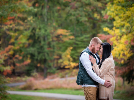 Fall Engagement at Hartwood Acres!
