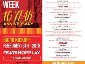 Harlem Restaurant Week's 10th Anniversary