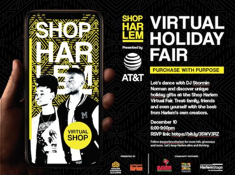Shop Harlem Virtual Holiday Fair 2020