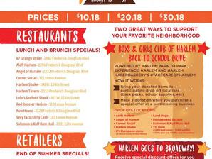 9th Annual Summer Harlem Restaurant and Retail Week