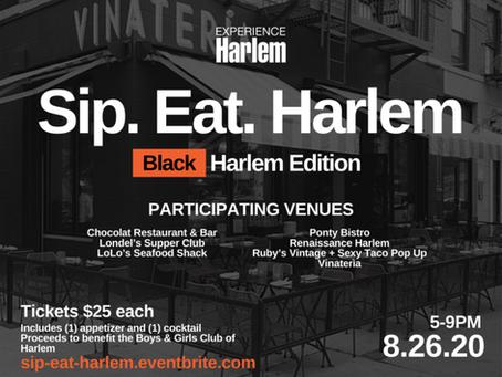 Sip. Eat. Harlem 2020