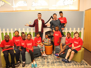 Library Makeover with the Property Brothers