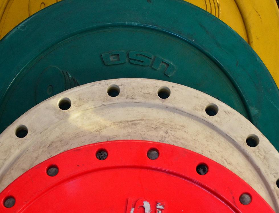 Discos de Hierro Olímpicos de 1.25 Kg  2.5 Kg