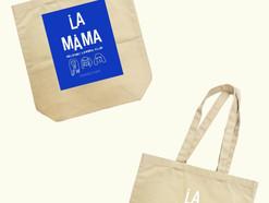 La.mama再生プロジェクト『CONNECT-20▶21』コラボトートバッグ企画に参加!
