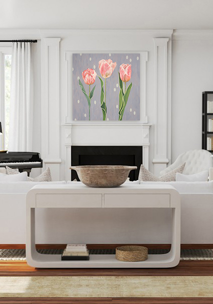 Create a focal point.