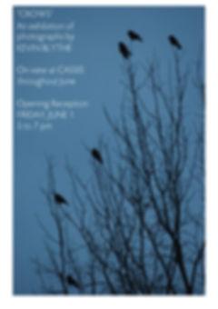 Poster Design for Kevin Blythe photography exhibit by Kazaan Viveiros