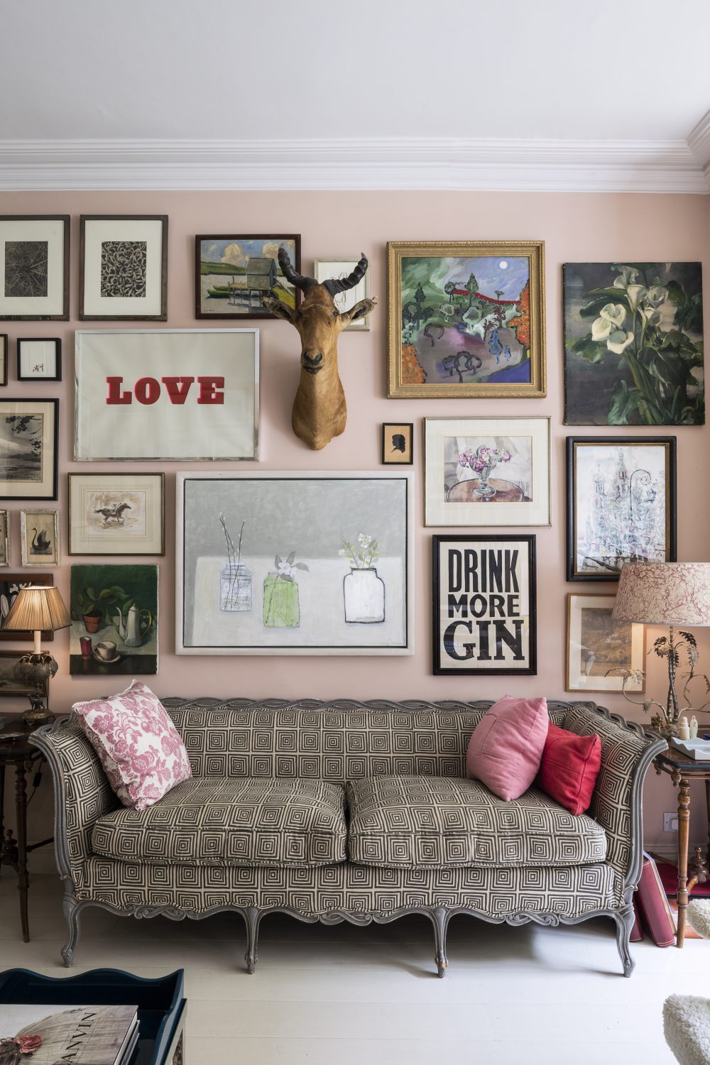 Create a gallery wall.
