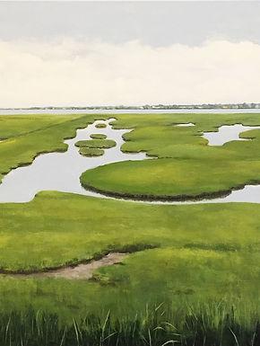 Hidden Marshes, marsh landscape