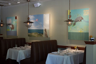 Kazaan Viveiros | Paintings | Installation | Restaurant | Occoquan Harbour Marina