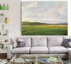 Add space with landscapes.