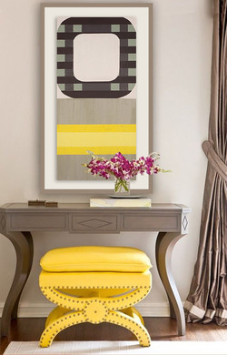 Brighten things up with yellow.
